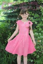 Платье в крестики нолики