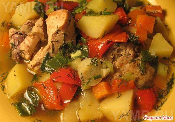Как сделать рагу с картошкой и капустой и мясом в мультиварке