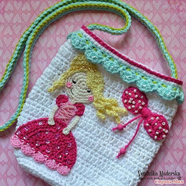 Аппликации для девочки вязание 7