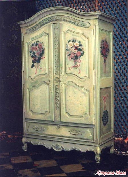 Роспись шкафов своими руками