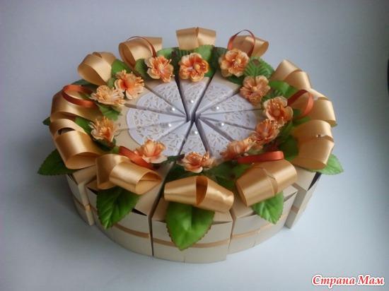 Торт как подарок на день рождения