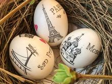 Моя прелесть :) Дизайн пасхальных яиц в стиле Большие города!