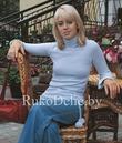 Вязаный на машине Нева женский пуловер-гольф :: Модели женской.