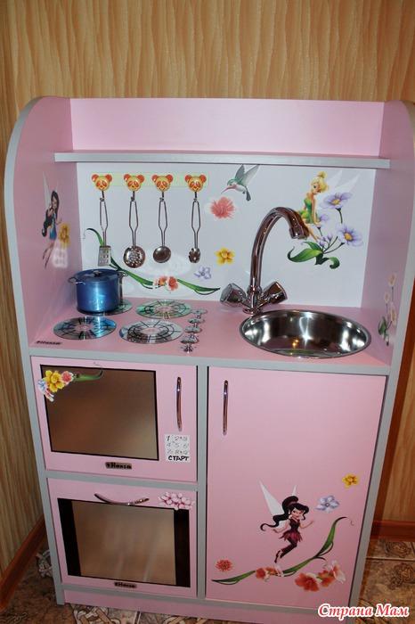 Детская кухня своими руками из комода 960