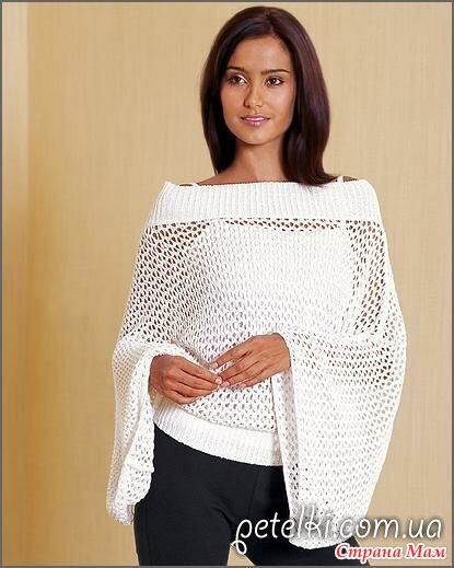 сетка - Вязание спицами