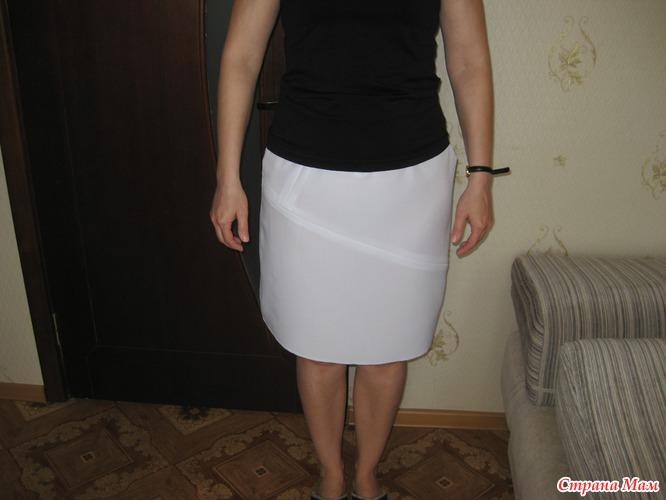 Просвечивают через юбку