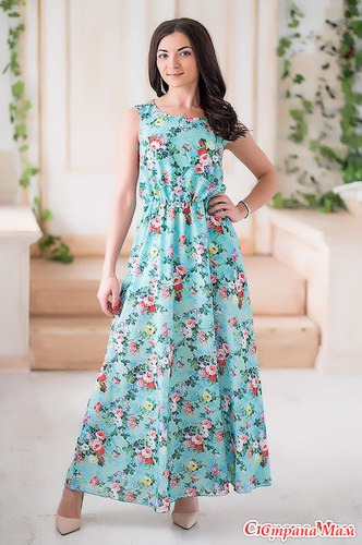 Как раскроить сарафан платье