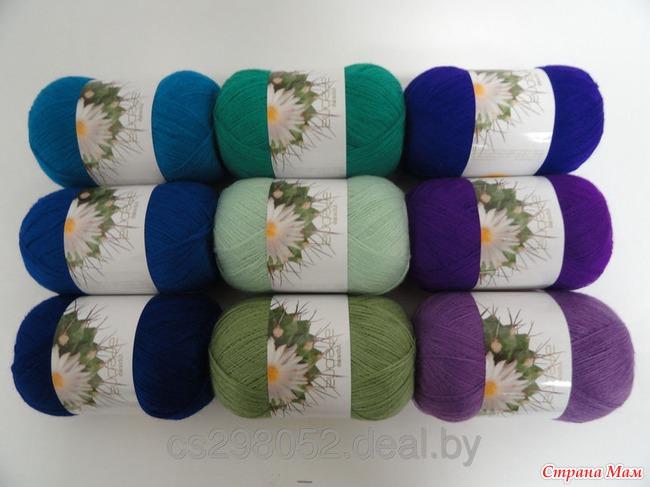Пряжа 100 хлопок для ручного вязания, хлопоковая пряжа