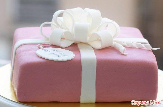 Торт з мастики рецепт з фото