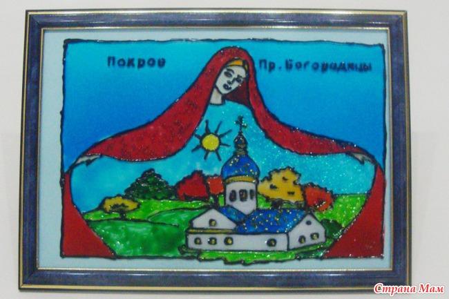Поделки и рисунки воскресной школе