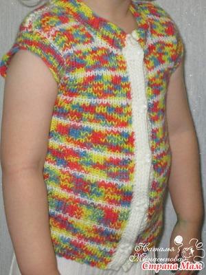 Вязание из пряжи беби принт 73