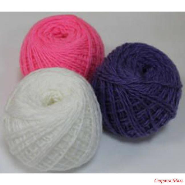 Нитки для вязания дёшево
