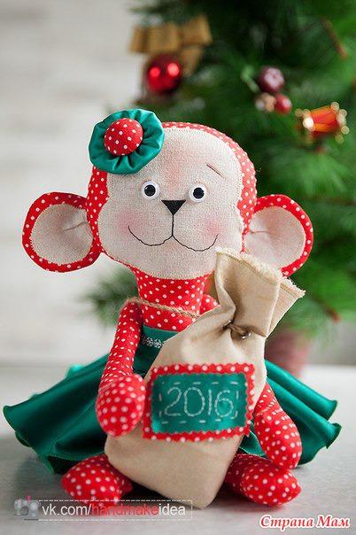 Новогодний символ года 2016 своими руками