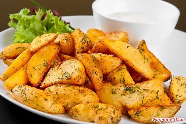 Картофельные блюда в духовке рецепты