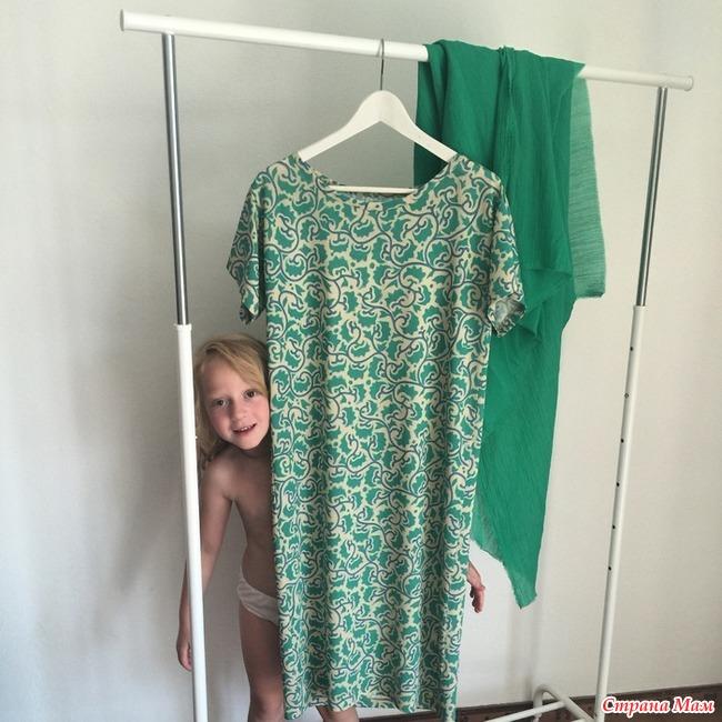Одинаковые платья для мамы 21