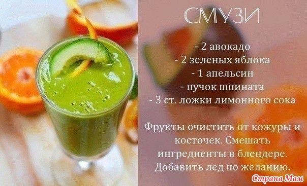 Смузи рецепты с фото для похудения