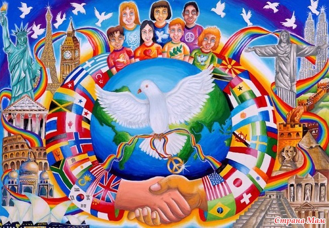 my role in creating peace in the world