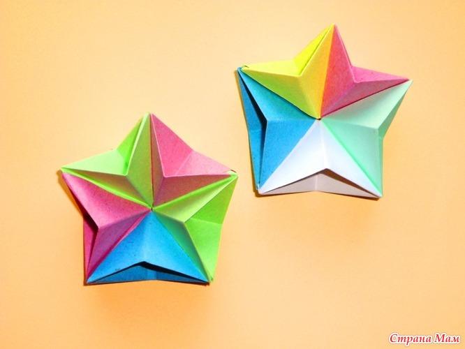 Оригами звезда пятиконечная схема фото 719