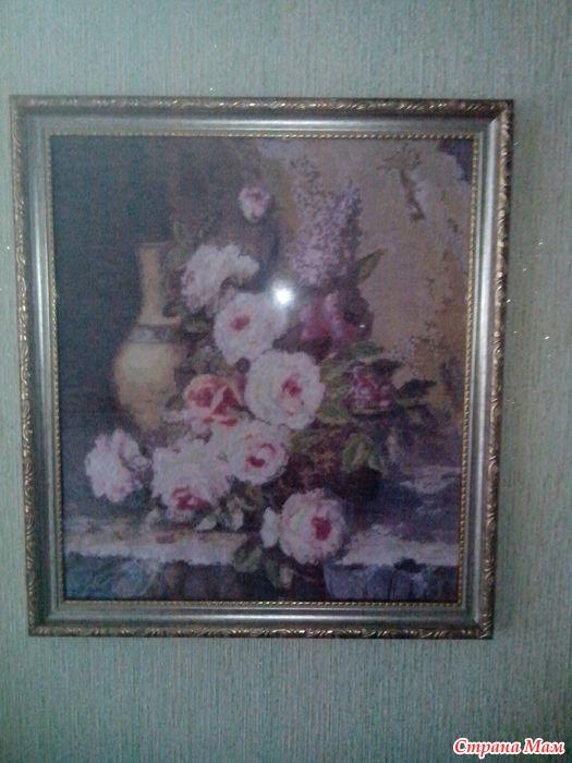 Купить вышивка мраморные розы нижнее бельё подарок мужчине