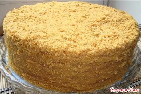 Торт медовик рецепт с фото с сметанным
