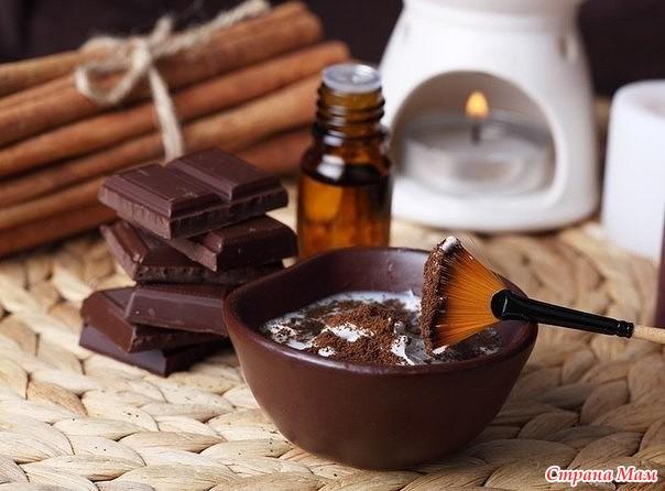Обертывание шоколадное в домашних условиях