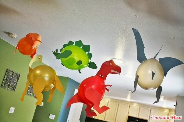 Поделки с воздушными шарами