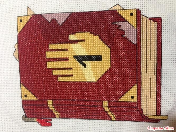 Схема вышивки крестом гравити фолз схемы