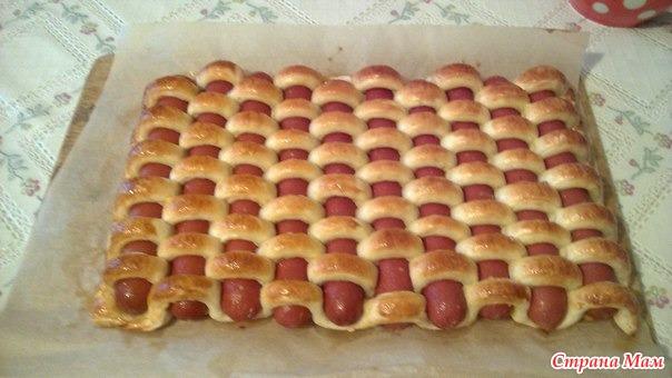Сосиски в тесте - Рецепты для очень занятой мамы - Страна Мам