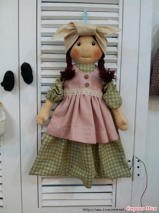 Кукла пакетница для кухни своими руками