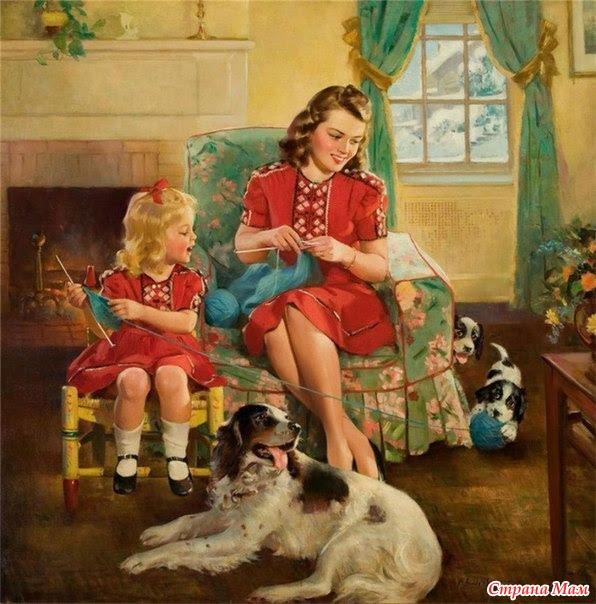 Рукоделие мамы