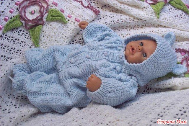 Вязать вещи для новорожденных