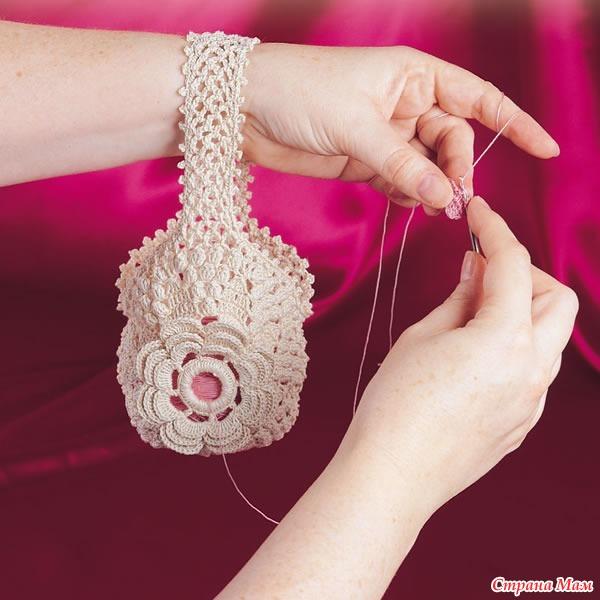 Как сделать сумку из ниток своими руками