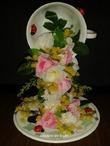 Поделка водопад из цветов своими руками 32