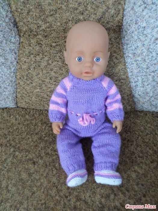 Вязание для беби борнов 56