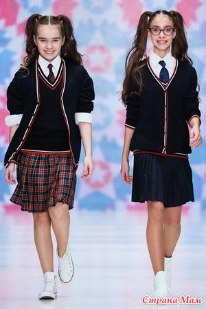 На неделе моды показали школьную форму для современных детей (фото)