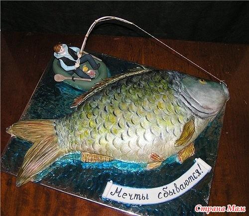 юбилей для рыбака