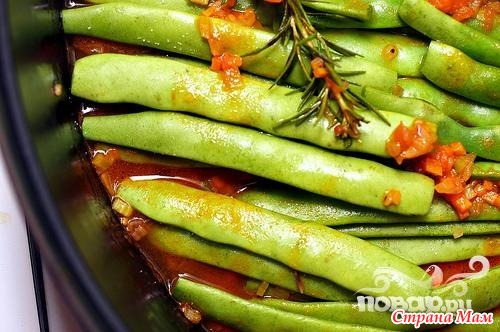 блюда из свежей фасоли рецепты с фото