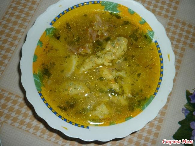 Суп из говядины с клёцками пошаговый рецепт с фото