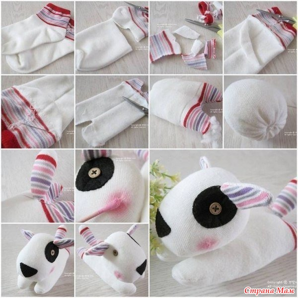 Изготовление игрушек из носков своими руками