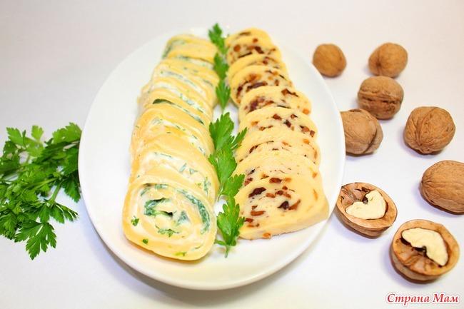 рецепт закуски из колбасы и сыра