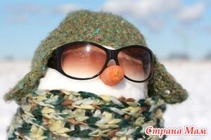 Как слепить с детьми снежную бабу?