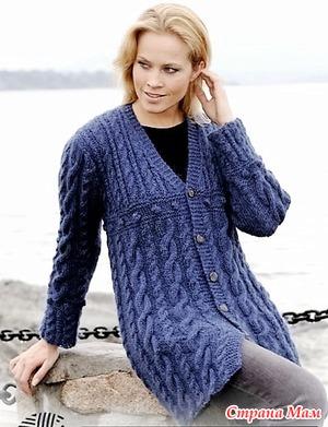 Вязание спицами для женщин 54 размер 75
