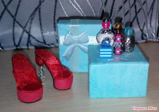 Обувь для кукол эах своими руками