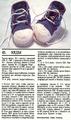 Вязаные кеды для малыша спицами схема