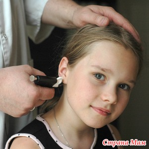 Особенности прокола ушей у детей