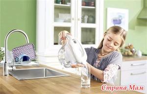 Чистая вода для мамы и малыша