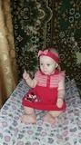 Моя младшая доченька Настенька