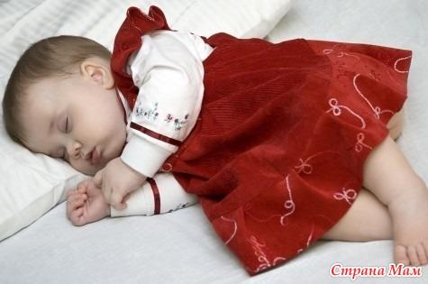 Как сделать чтоб новорожденный спал по ночам