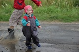 Лето.Дождь.Холодно. А нам весело!!!