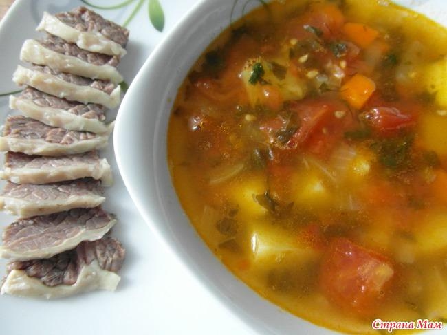 Супы из говядины и картошки рецепт